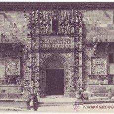 Postales: SANTIAGO DE COMPOSTELA: PORTADA DEL HOSPITAL. THOMAS. NO CIRCULADA (AÑOS 10). Lote 26726054