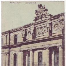 Postales: SANTIAGO DE COMPOSTELA: UNIVERSIDAD. E.J.G. REVERSO SIN DIVIDIR. NO CIRCULADA (ANTERIOR A 1905). Lote 26726157