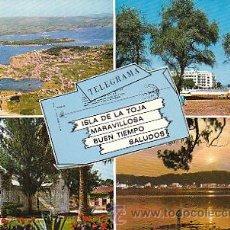 Postales: LA TOJA (PONTEVEDRA). Lote 22370215