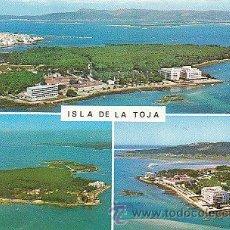Postales: LA TOJA (PONTEVEDRA), VISTAS AEREAS. Lote 22370259