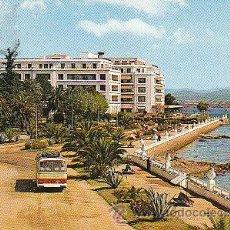 Postales: LA TOJA (PONTEVEDRA), EL GRAN HOTEL, CIRCULADA EN 1969 (VER DORSO). Lote 22370357