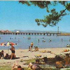 Postales: LA TOJA (PONTEVEDRA), PLAYA Y PUENTE. Lote 22370425