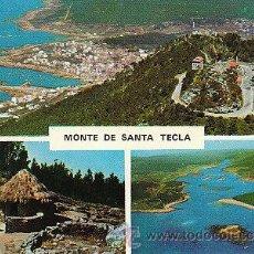Postales: LA GUARDIA (PONTEVEDRA), MONTE SANTA TECLA. Lote 22370471