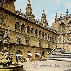 Postales: SANTIAGO DE COMPOSTELA - PLAZA DE LAS PLATERIAS. Lote 22391925