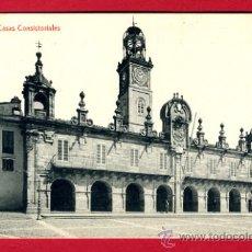 Cartoline: LUGO, CASAS CONSISTORIALES, P44161. Lote 22681464