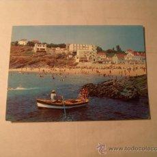 Postales: POSTAL DE PORTONOVO PONTEVEDRA. PLAYA DE CANELIÑAS. S/C. POSTAL 674. Lote 22709693
