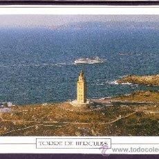 Postales: TORRE DE HERCULES - LA CORUÑA. Lote 22817886