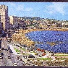 Postales: PLAZA DE RIAZOR - LA CORUÑA. Lote 22818018