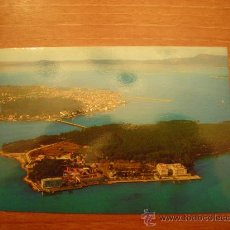 Postales: POSTAL ISLA DE LA TOJA (PONTEVEDRA VISTA AEREA SIN CIRCULAR . Lote 22974315
