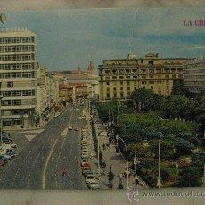 Postales: BONITA POSTAL DE LA CORUÑA,AVENIDA LOS CANTONES Y JARDINES.. Lote 23084266