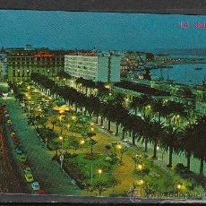 Postales: 158 - LA CORUÑA. AVENIDA LOS CANTONES Y JARDINES. Lote 23199295