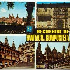 Postales: SANTIAGO DE COMPOSTELA. RECUERDO DE SANTIAGO DE COMPOSTELA.. Lote 23715122