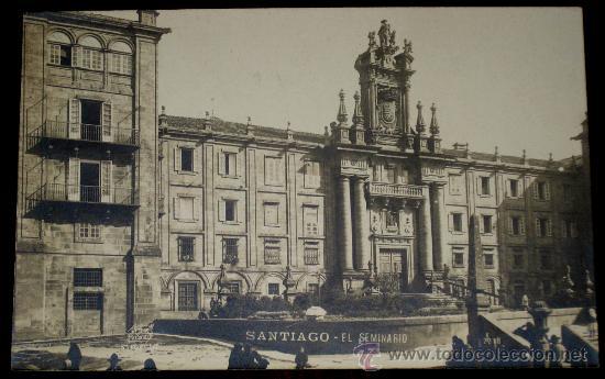 Resultado de imagen para fotografía antiguas del Seminario de Santiago de Compostela