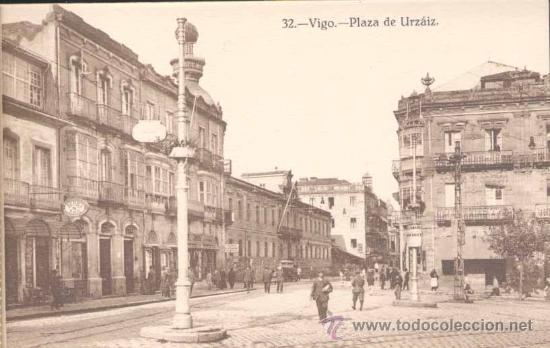 Postales: ÁLBUM DE POSTALES .-RECUERDO DE VIGO.- 10 VISTAS - Foto 3 - 23982131