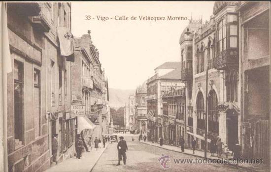 Postales: ÁLBUM DE POSTALES .-RECUERDO DE VIGO.- 10 VISTAS - Foto 4 - 23982131