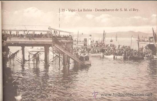 Postales: ÁLBUM DE POSTALES .-RECUERDO DE VIGO.- 10 VISTAS - Foto 6 - 23982131