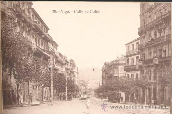 Postales: ÁLBUM DE POSTALES .-RECUERDO DE VIGO.- 10 VISTAS - Foto 9 - 23982131