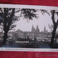 Postales: SANTIAGO DE COMPOSTELA - VISTA PARCIAL. Lote 24472118