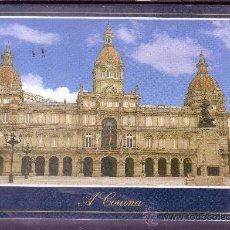 Postales: CORUÑA - PLAZA DE MARIA PITA - AYUNTAMIENTO. Lote 24280826