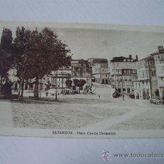 Postales: BETANZOS - CORUÑA - PLAZA GARCIA HERMANOS. Lote 24336960