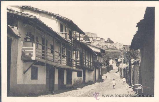 MONFORTE DE LEMOS (LUGO).- UNA CALLE TÍPICA (Postales - España - Galicia Moderna (desde 1940))