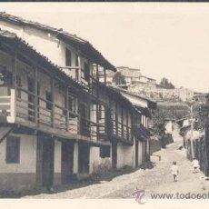 Postales: MONFORTE DE LEMOS (LUGO).- UNA CALLE TÍPICA. Lote 24587181
