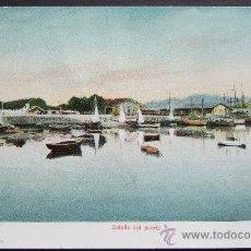 Postales: VIGO. DETALLE DEL PUERTO – VICENTE COMA, VIGO. Lote 24619564