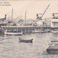 Postales: VIGO (PONTEVEDRA) CIRCA 1900: MUELLE DE MADERA. POSTAL 1582 HAUSER Y MENET. SIN USAR.. Lote 24853544