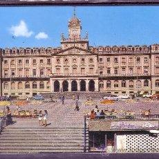 Postales: EL FERROL DEL CAUDILLO - PLAZA DE ALBORAN - PALACIO MUNICIPAL. Lote 24986608