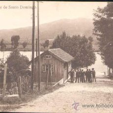 Postales: TUY (PONTEVEDRA).- MUELLE DE SANTO DOMINGO. Lote 220973648