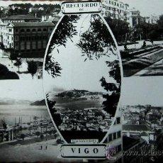 Postales: VIGO: PONTEVEDRA. VISTA PARCIAL. ED. ARRIBAS. AÑOS 50. Lote 25129247