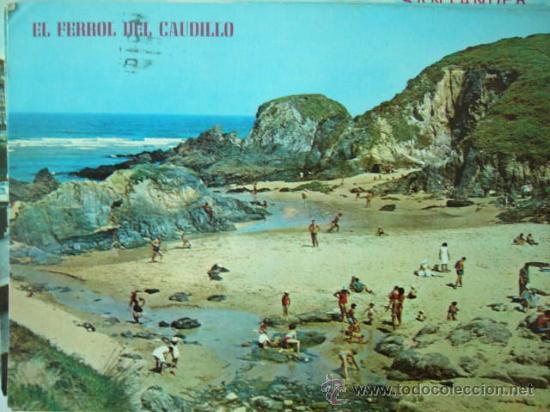 EL FERROL DEL CAUDILLO. Nº 317. ED. PARIS. CIRCULADA. (Postales - España - Galicia Moderna (desde 1940))