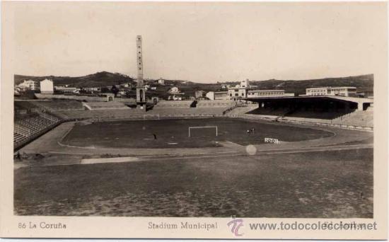 LA CORUÑA.- STADIUM MUNICIPAL (Postales - España - Galicia Moderna (desde 1940))