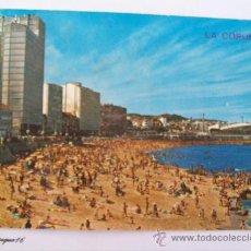 Postales: LA CORUÑA, PLAYA DEL RIAZOR, PLAGE, BEACH. ARRIBAS N° 162. Lote 27245445