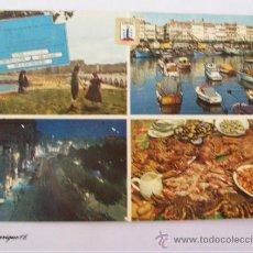 Postales: LA CORUÑA, PLAYA DEL RIAZOR, PLAGE, BEACH. DOMINGUEZ N° 57. DARSENA. Lote 27245446