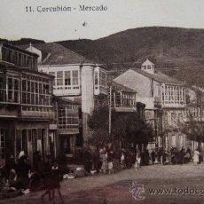 Postales: CORCUBIÓN: CORUÑA. MERCADO. FOTO TAMARRO Nº 11. AÑOS 20. Lote 25582578