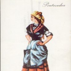 Postales: PONTEVEDRA POSTAL 1974 CIRCULADA CON PUBLICIDAD . Lote 25595198