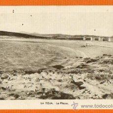Postales: LA TOJA - LA PLAYA - EDITOR M. ARRIBAS ZARAGOZA - SIN CIRCULAR. Lote 26101620