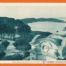 Postales: LA TOJA - VISTA DESDE UNA AZOTEA DE LOS CAMPOS DE TENIS Y GOLF - SIN CIRCULAR Nº 6 CLICHÉ J. PINTOS. Lote 26102612
