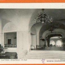 Postales: LA TOJA - GRAN HOTEL - EL HALL- PINTOS FOTOGRAFO - SIN CIRCULAR POSTAL FOTOGRAFICA BRILLO. Lote 26102789