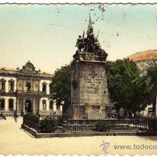 Postales: BONITA POSTAL - PONTEVEDRA - MONUMENTO A LOS HEROES DEL PUENTE SAN PAYO Y AYUNTAMIENTO. Lote 26262365