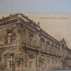 Postales: SANTIAGO. NUEVA ESCUELA DE MEDICINA. CIRCULADA, ESCRITA Y CON SELLO 15 CTS ALFONSO XIII (23-IX-28). Lote 26322607