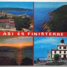 Postales: LA CORUÑA. A CORUÑA. FINISTERRE. ASI ES FINISTERRE. FISTERRA.. Lote 26362848