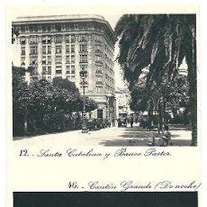 Postales: 8076 - LA CORUÑA - SANTA CATALINA Y BANCO PASTOR - CANTÓN GRANDE DE NOCHE. Lote 26662102