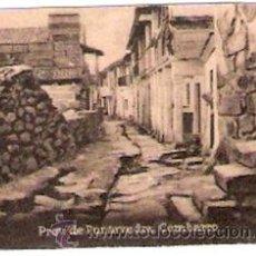 Cartoline: POSTAL ORIGINAL DECADA DE LOS 30. PONTEVEDRA. COMBARRO. Nº 209. VER TAMAÑO Y EXPLICACION. Lote 26975643