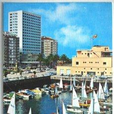 Postales: PONTEVEDRA. VIGO. DÁRSENA DEL REAL CLUB NAUTICO.. Lote 26974500