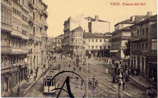 VIGO. PUERTA DEL SOL. (Postales - España - Galicia Antigua (hasta 1939))