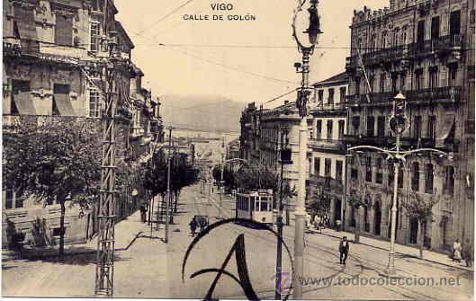 VIGO. CALLE DE COLÓN. (Postales - España - Galicia Antigua (hasta 1939))