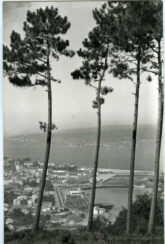 POSTAL MARIN PONTEVEDRA VISTA PARCIAL (Postales - España - Galicia Moderna (desde 1940))
