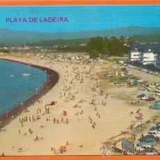 Postales: BAYONA LA REAL - PONTEVEDRA - PLAYA DE LADEIRA - Nº 3.414 POSTALES FAMA (VIGO). Lote 27358753